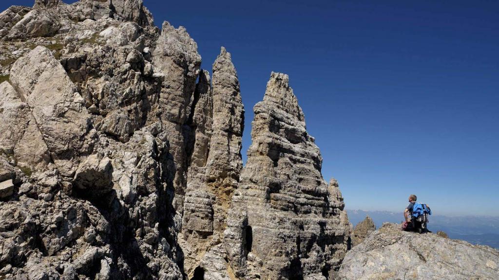Ferrata Campanili del Latemar Trentino vacanza outdoor