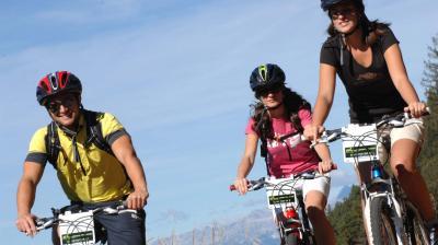 Mountain bike Val di Fiemme Trentino vacanza outdoor