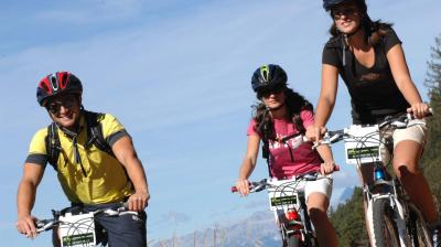 Mountain bike Val di Fiemme Trentino vacanza outdoor