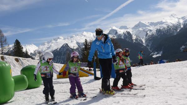 Ski fahren im Val di Fiemme